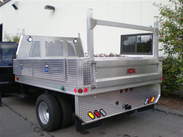 Arrow Lite Aluminum Stake Platform Truck Body