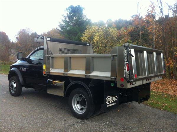 Brave Series Stainless Steel Dump Body