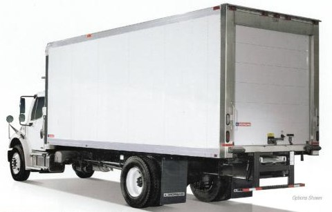 Morgan Corp Refrigerated Truck Body